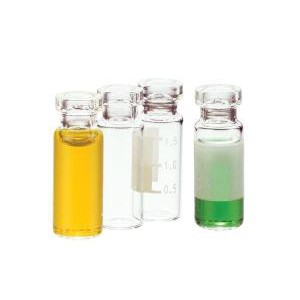 Target 2mL Crimp Top Glass Vials. NatSci