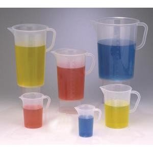 Graduated Pitchers, Polypropylene
