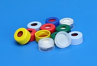 Snap Top Caps™ PTFE/Silicone/PTFE
