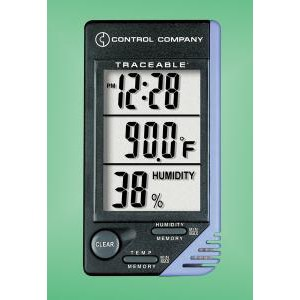 Traceable® Thermometer w/Alarm