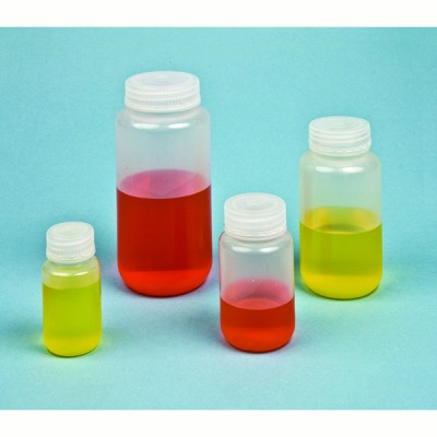 REAGENT BOTTLES, WIDE, HDPE