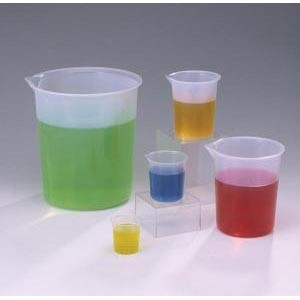 Graduated Polypropylene Griffin Beakers