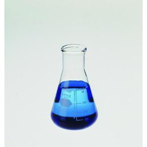 KIMAX® Wide Mouth Erlenmeyer Flasks w/Heavy-Duty Tooled Top