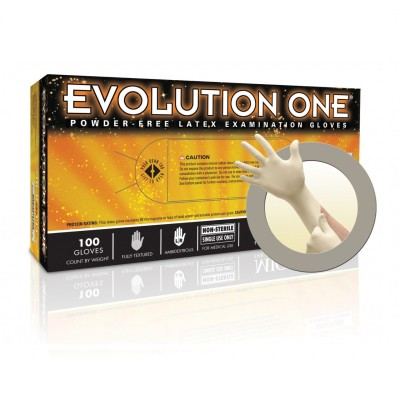 Evolution One Powder-Free Latex Gloves