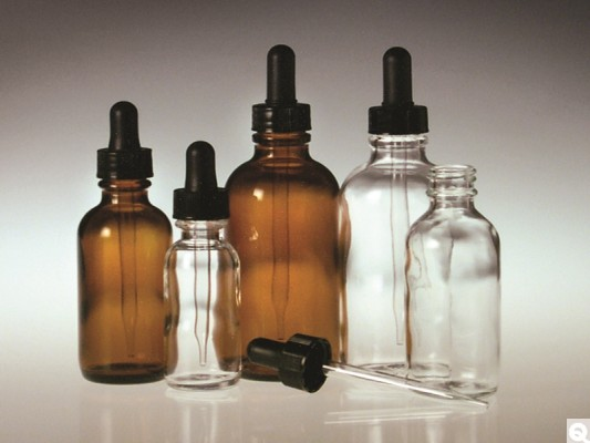 Round Dropper Bottles
