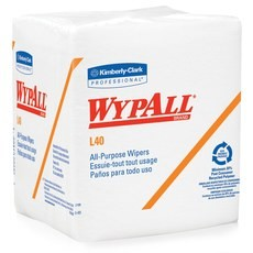 Wypall L40 1/4 Fold Wipers