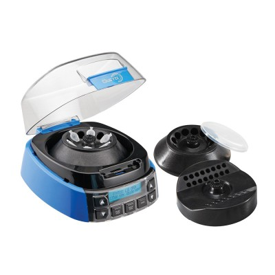 Gusto® High Speed Mini-Centrifuge 100-240VAC, 50/60Hz Universal Plug, Blue