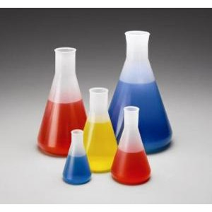 Polypropylene Erlenmeyer Flasks. Nalge
