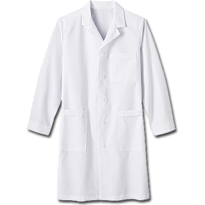 "17020 Meta Nano-Care 39"" Men's Labcoat. White Swan Brands"