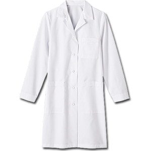 "17010 Meta Nano-Care 39"" Ladies Labcoat. White Swan Brands"