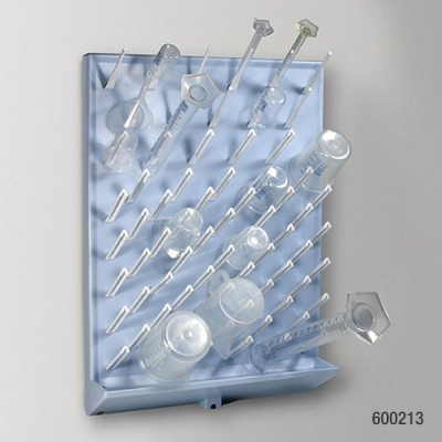 Drying Rack, 72 Place, Removable Pegs, High Impact Polystyrene