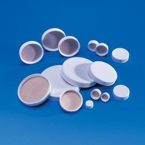 White Polypropylene Caps with PTFE/Foam Liners