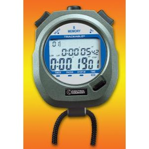 Traceable® Dual Display Digital Stopwatch